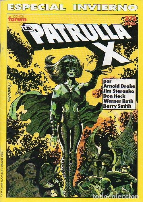 LA PATRULLA-X ESPECIAL INVIERNO 1990 - FORUM (Tebeos y Comics - Forum - Patrulla X)