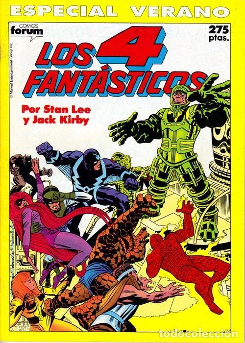 LOS 4 FANTÁSTICOS ESPECIAL VERANO 1990 - FORUM (Tebeos y Comics - Forum - 4 Fantásticos)