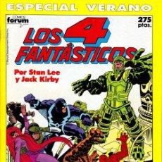 Cómics: LOS 4 FANTÁSTICOS ESPECIAL VERANO 1990 - FORUM. Lote 192114067