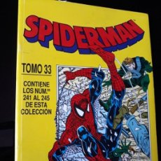 Cómics: TOMO SPIDERMAN 33. COMIC FORUM. CONTIENE DEL 241 - 242 - 243 - 244 - 245. Lote 192151125