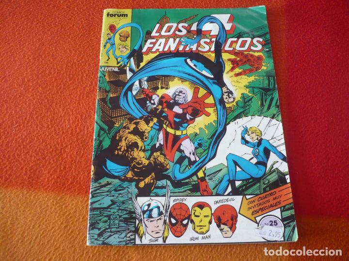 LOS 4 FANTASTICOS VOL. 1 Nº 25 ( BYRNE ) MARVEL FORUM (Tebeos y Comics - Forum - 4 Fantásticos)