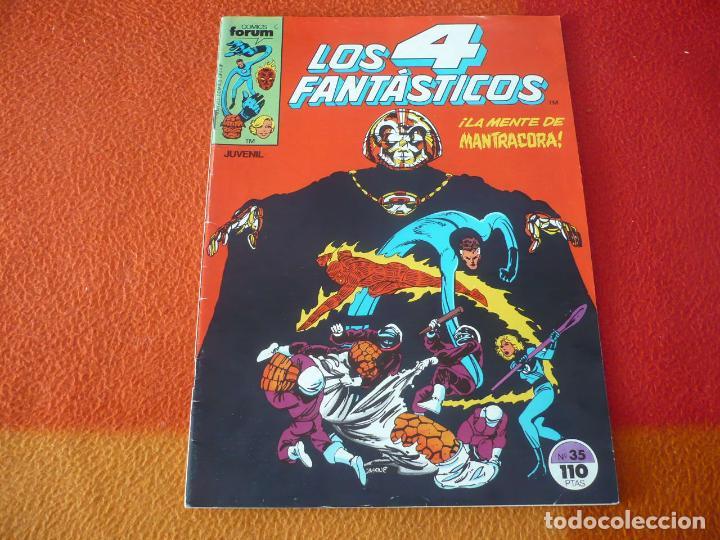 LOS 4 FANTASTICOS VOL. 1 Nº 35 ( BYRNE ) ¡BUEN ESTADO! MARVEL FORUM (Tebeos y Comics - Forum - 4 Fantásticos)