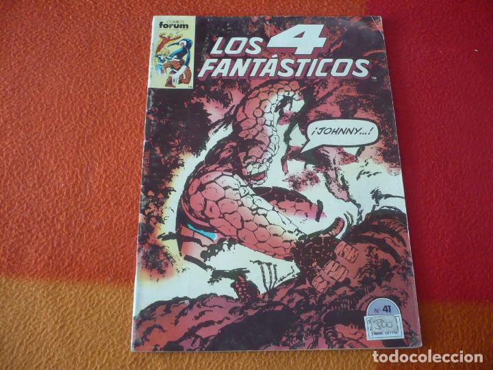 LOS 4 FANTASTICOS VOL. 1 Nº 41 ( BYRNE ) MARVEL FORUM (Tebeos y Comics - Forum - 4 Fantásticos)
