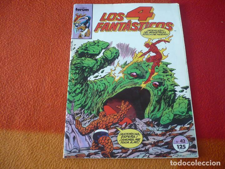 LOS 4 FANTASTICOS VOL. 1 Nº 42 ( BYRNE ) MARVEL FORUM (Tebeos y Comics - Forum - 4 Fantásticos)