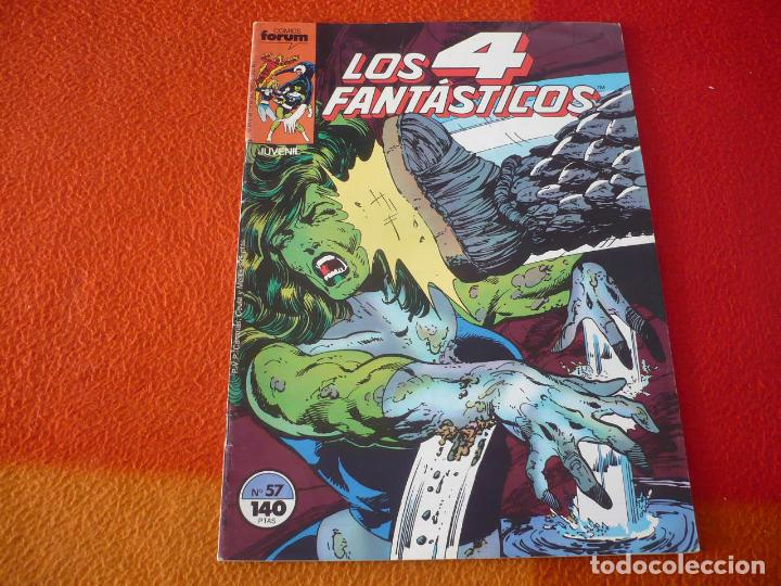 LOS 4 FANTASTICOS VOL. 1 Nº 57 ( BYRNE ) ¡BUEN ESTADO! MARVEL FORUM (Tebeos y Comics - Forum - 4 Fantásticos)