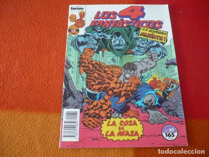 LOS 4 FANTASTICOS VOL. 1 Nº 89 ( ENGLEHART POLLARD ) ¡BUEN ESTADO! MARVEL FORUM (Tebeos y Comics - Forum - 4 Fantásticos)