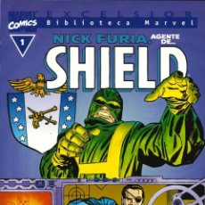 Cómics: BIBLIOTECA MARVEL - FORUM / NICK FURIA, AGENTE DE SHIELD. Lote 192267193