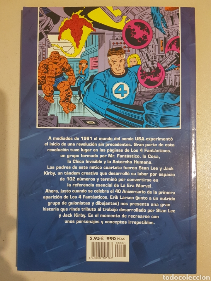 Cómics: LOS 4 FANTÁSTICOS LA AVENTURA MÁS GRANDE JAMÁS CONTADA - 1 - TOMO MARVEL FORUM - Foto 2 - 192285548