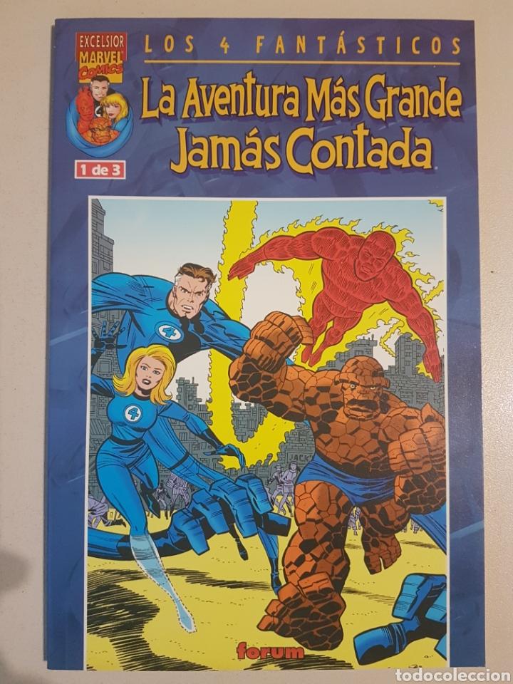 LOS 4 FANTÁSTICOS LA AVENTURA MÁS GRANDE JAMÁS CONTADA - 1 - TOMO MARVEL FORUM (Tebeos y Comics - Forum - 4 Fantásticos)