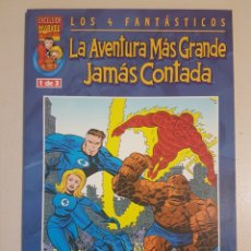 Cómics: LOS 4 FANTÁSTICOS LA AVENTURA MÁS GRANDE JAMÁS CONTADA - 1 - TOMO MARVEL FORUM. Lote 192285548