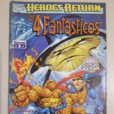 Cómics: LOS 4 FANTÁSTICOS VOL 3 - 4 - HEROES RETURN GRAPA MARVEL FORUM - CLAREMONT - LARROCA. Lote 192286512