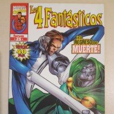 Cómics: LOS 4 FANTÁSTICOS VOL 3 - 25 - HEROES RETURN GRAPA MARVEL FORUM - CLAREMONT - LARROCA. Lote 192286863