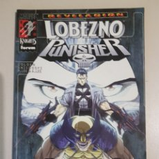 Comics: LOTE RESERVADO - LOBEZNO PUNISHER - REVELACIÓN - TOMO MARVEL KNIGHTS - FORUM. Lote 192293506