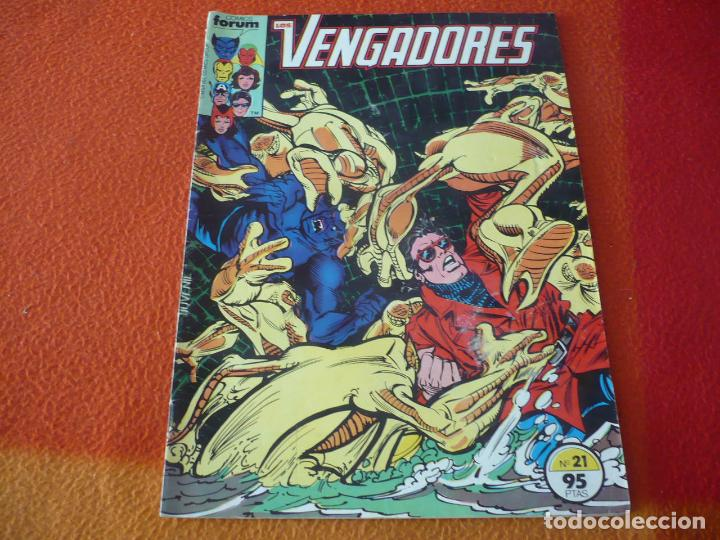 Cómics: LOS VENGADORES VOL. 1 Nº 21 MARVEL FORUM - Foto 1 - 192312575