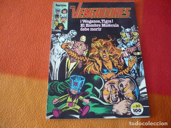 LOS VENGADORES VOL. 1 Nº 30 ( SHOOTER ) ¡BUEN ESTADO! MARVEL FORUM (Tebeos y Comics - Forum - Vengadores)