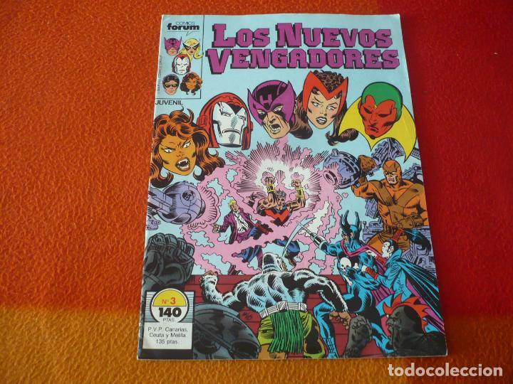 LOS NUEVOS VENGADORES VOL. 1 Nº 3 ( ENGLEHART MILGROM ) ¡BUEN ESTADO! MARVEL FORUM (Tebeos y Comics - Forum - Vengadores)