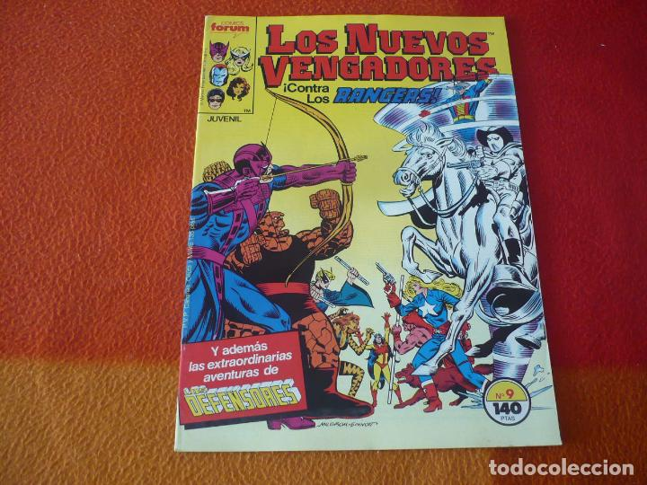 LOS NUEVOS VENGADORES VOL. 1 Nº 9 ( ENGLEHART MILGROM ) ¡MUY BUEN ESTADO! MARVEL FORUM (Tebeos y Comics - Forum - Vengadores)