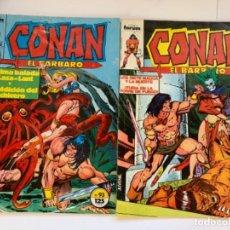Cómics: 6 NÚMEROS DE CONAN EL BÁRBARO. Lote 192352145