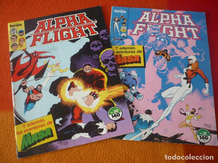 ALPHA FLIGHT VOL. 1 NºS 30 Y 31 ( MANTLO MIGNOLA ) ¡BUEN ESTADO! MARVEL FORUM (Tebeos y Comics - Forum - Alpha Flight)