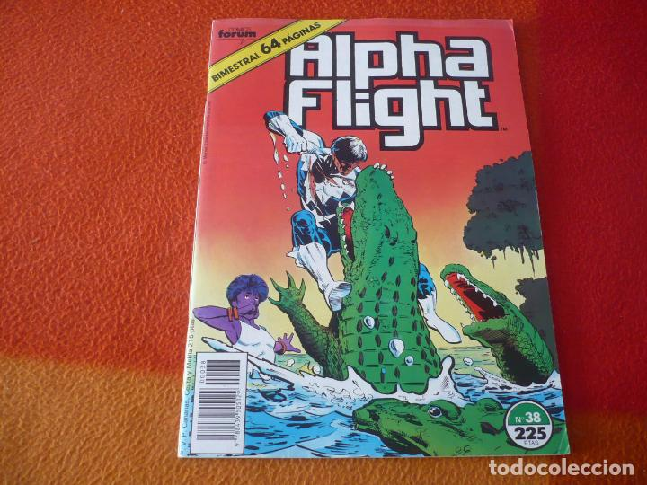 ALPHA FLIGHT VOL. 1 Nº 38 ( MANTLO ROSS ) ¡BUEN ESTADO! MARVEL FORUM BIMESTRAL 64 PAGINAS (Tebeos y Comics - Forum - Alpha Flight)