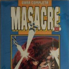Cómics: OBRA COMPLETA MASACRE II. Lote 192555268