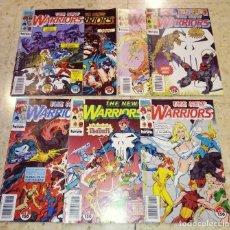 Cómics: LOTE 7 COMICS FORUM AÑOS 90 1991 MARVEL THE NEW WARRIORS - NUMEROS 2 , 3 , 5 , 7 , 8 , 9 Y 10. Lote 192718188
