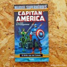 Cómics: CAPITAN AMERICA. MARVEL SUPERHEROES. TU ERES EL PROTAGONISTA. EL BRILLO ROJO DEL COHETE. FORUM 3. Lote 192794218