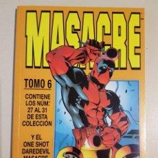 Cómics: MASACRE TOMO 6 - RETAPADO GRAPAS 27 28 29 30 31 VOL 3 - MARVEL - FORUM. Lote 192844953