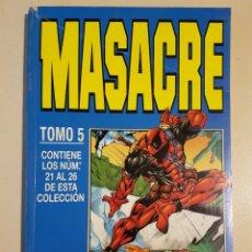 Cómics: MASACRE TOMO 5 - RETAPADO GRAPAS 21 22 23 24 25 26 VOL 3 - MARVEL - FORUM. Lote 192845157