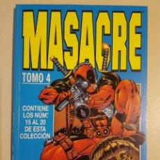Cómics: MASACRE TOMO 4 - RETAPADO GRAPAS 15 16 17 18 19 20 VOL 3 - MARVEL - FORUM - DEADPOOL. Lote 266292258