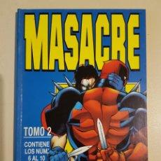 Cómics: MASACRE TOMO 2 - RETAPADO GRAPAS 6 7 8 9 10 VOL 3 - MARVEL - FORUM. Lote 192845300
