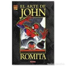 Cómics: EL ARTE DE JOHN ROMITA. Lote 192896316