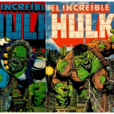 Cómics: EL INCREÍBLE HULK -FUTURO IMPERFECTO- COMPLETA 1 Y 2- FORUM,1993. NUEVOS.. Lote 192922300