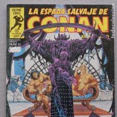 Fumetti: ESPADA SALVAJE DE CONAN 1ª EDICIÓN, Nº 41. Lote 193060110
