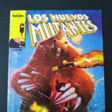 Cómics: EXCELENTE ESTADO LOS NUEVOS MUTANTES 19 FORUM. Lote 193073427