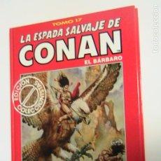 Fumetti: LA ESPADA SALVAJE DE CONAN (TOMOS ROJOS) 17. FORUM.. Lote 193170946