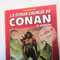 Fumetti: LA ESPADA SALVAJE DE CONAN (TOMOS ROJOS) 19. FORUM.. Lote 193171402