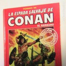 Fumetti: LA ESPADA SALVAJE DE CONAN (TOMOS ROJOS) 16. FORUM.. Lote 193171890
