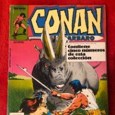 Cómics: CONAN COMICS FORUM TOMO 5 NUMEROS AÑO 1989. Lote 193192472