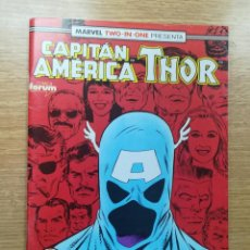 Cómics: CAPITAN AMERICA THOR (MARVEL TWO-IN-ONE) #71. Lote 193258155