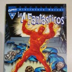 Cómics: BIBLIOTECA MARVEL - LOS 4 FANTÁSTICOS - 30 - TOMO - MARVEL - FORUM. Lote 193267746