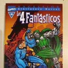 Cómics: BIBLIOTECA MARVEL - LOS 4 FANTÁSTICOS - 28 - TOMO - MARVEL - FORUM. Lote 193267912