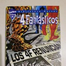 Cómics: BIBLIOTECA MARVEL - LOS 4 FANTÁSTICOS - 27 - TOMO - MARVEL - FORUM. Lote 193272705