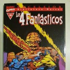 Cómics: BIBLIOTECA MARVEL - LOS 4 FANTÁSTICOS - 24 - TOMO - MARVEL - FORUM. Lote 193272822