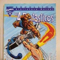 Comics: BIBLIOTECA MARVEL - LOS 4 FANTÁSTICOS - 14 - TOMO - MARVEL - FORUM. Lote 193311818