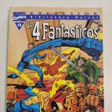 Comics: BIBLIOTECA MARVEL - LOS 4 FANTÁSTICOS - 12 - TOMO - MARVEL - FORUM. Lote 193312130
