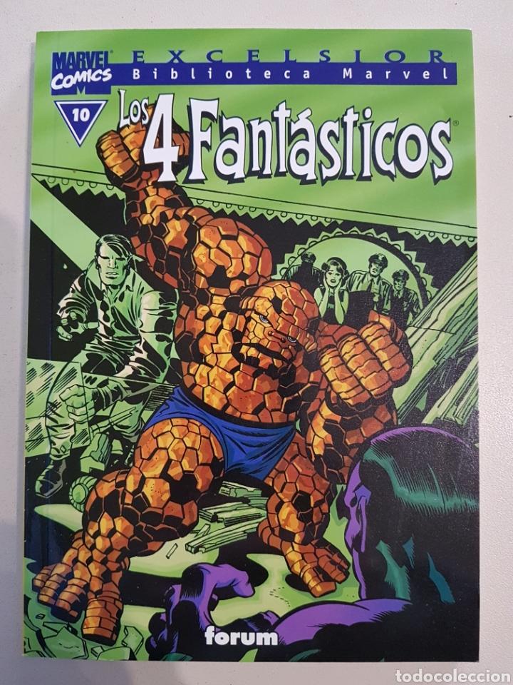 BIBLIOTECA MARVEL - LOS 4 FANTÁSTICOS - 10 - TOMO - MARVEL - FORUM (Tebeos y Comics - Forum - 4 Fantásticos)