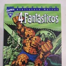 Cómics: BIBLIOTECA MARVEL - LOS 4 FANTÁSTICOS - 10 - TOMO - MARVEL - FORUM. Lote 193312227