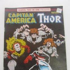 Cómics: MARVEL TWO IN ONE - CAPITAN AMERICA-THOR- Nº 75 - 1992 FORUM MUCHOS MAS A LA VENTA PIDE FALTAS C8. Lote 193346526