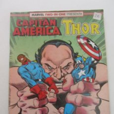 Comics : MARVEL TWO IN ONE - CAPITAN AMERICA-THOR- Nº 74 - 1992 FORUM MUCHOS MAS A LA VENTA PIDE FALTAS C8. Lote 193346741